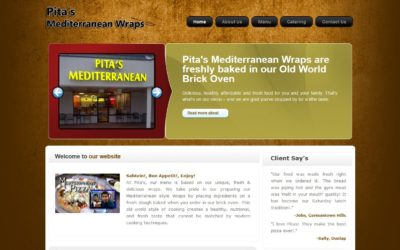 Pita's Mediterranean Wraps