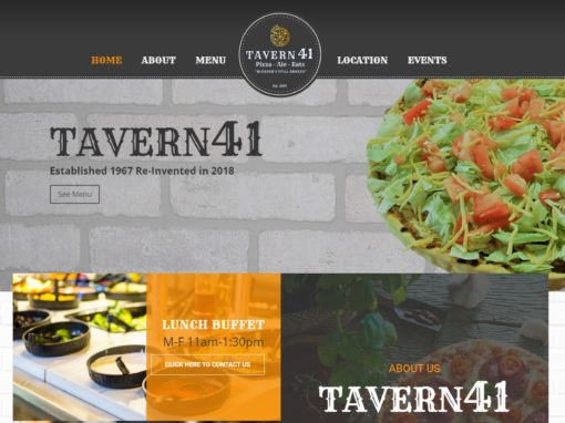 TAVERN41 PIZZA – ALE – EATS