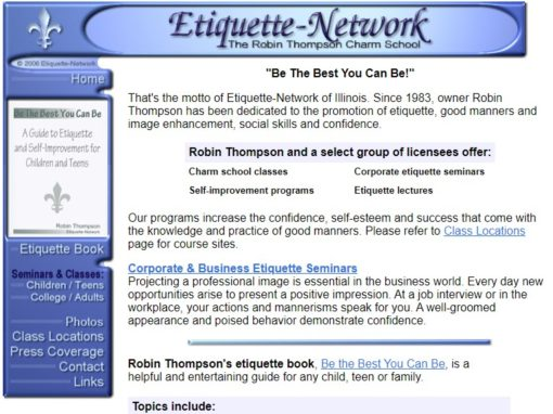 Etiquette-Network of Illinois