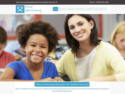 School Sight and Sound Audio and Vision Screening Peoria IL
