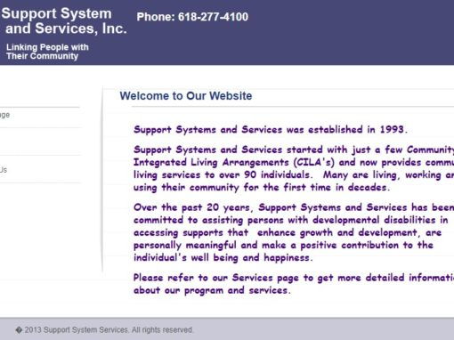 Support Systems and Services