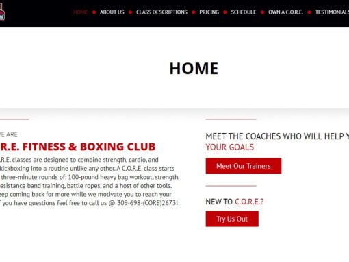 Core Fitness and Boxing Club